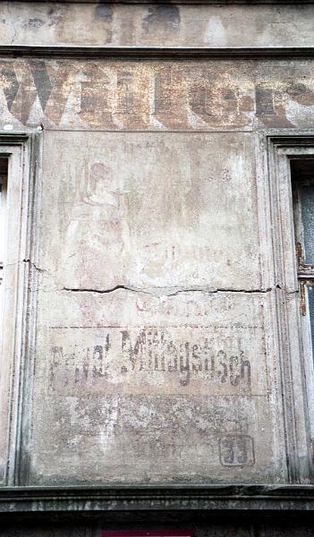 Kolonialwarenwerbeschriften Vergangener Zeitenmecklenburg